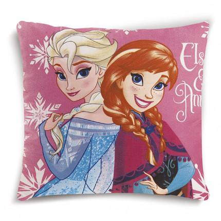 Διακοσμητικό Μαξιλάρι 40X40 Dimcol Disney Frozen 13 Ροζ