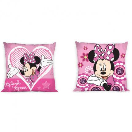 Διακοσμητικό Μαξιλάρι 40X40 Dimcol Disney Minnie 26 Ροζ