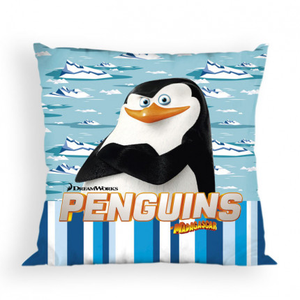 Διακοσμητικό Μαξιλάρι 40X40 Dimcol Disney Penguins 20 Μπλε