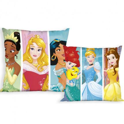 Διακοσμητικό Μαξιλάρι 40X40 Dimcol Disney Princess 16 Ακουα