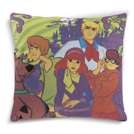 Διακοσμητικό Μαξιλάρι 40X40 Dimcol Disney Scooby Doo 03 Πράσινο