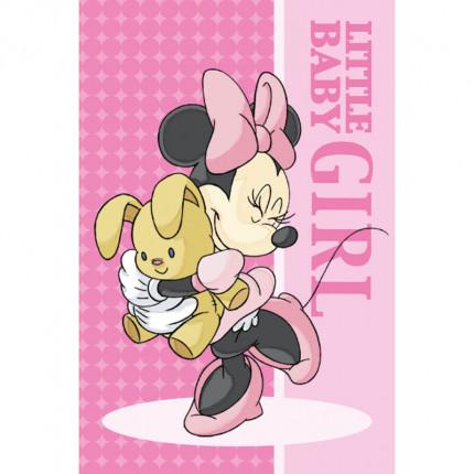 Λαβέτα Προσώπου 40X60 Dimcol Disney Minnie 01 Ροζ