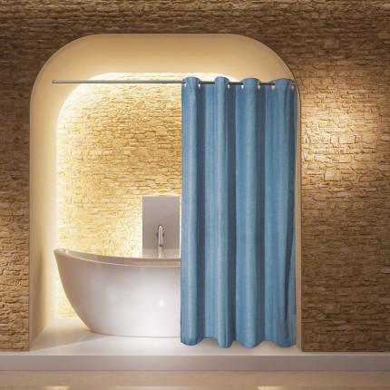 Κουρτίνα Μπάνιου 180X240 Greenwich Polo Club Bath Curtains 2582 Μπλε