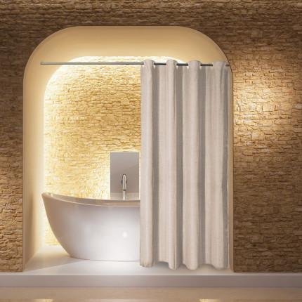 Κουρτίνα Μπάνιου 180X240 Greenwich Polo Club Bath Curtains 2585 Μπεζ