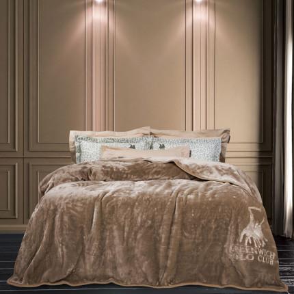 Κουβέρτα Βελουτέ Υπέρδιπλη 220X240 Greenwich Polo Club Essential 2452