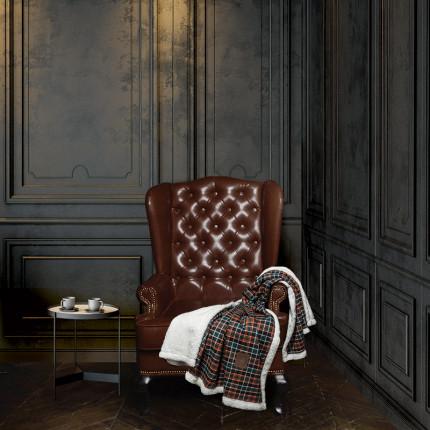 Κουβέρτα Καναπέ 130x150 Greenwich Polo Club Premium 2434 Πορτοκαλι - Πρασινο