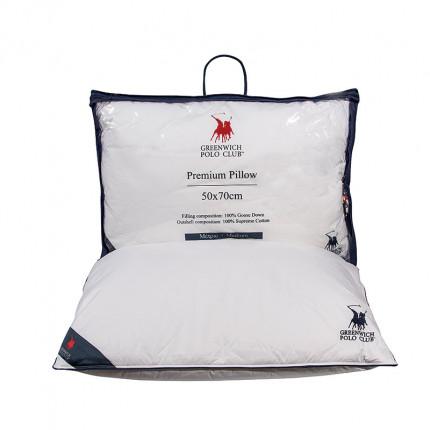 Μαξιλάρι Ύπνου 50x70 Greenwich Polo Club Premium 2304 Λευκο