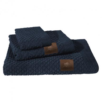 Πετσέτες Μπάνιου (Σετ 3 Τμχ) Greenwich Polo Club Essential 2537 Μπλε