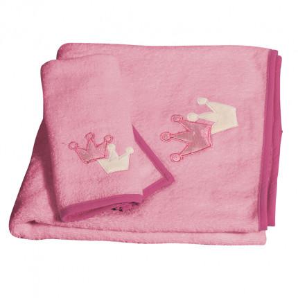 Βρεφικές Πετσέτες (Σετ 2 Τμχ) Greenwich Polo Club Essential 2909 Ροζ