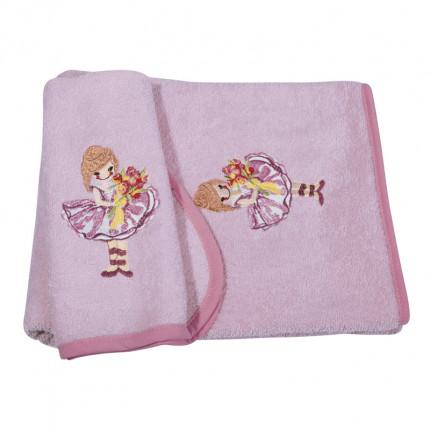 Βρεφικές Πετσέτες (Σετ 2 Τμχ) Greenwich Polo Club Essential 2936 Ροζ