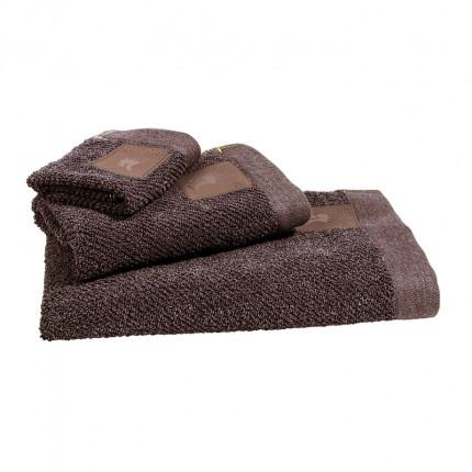 Πετσέτες Προσώπου (Σετ 2 Τμχ) 50x90 Greenwich Polo Club Essential 2527 Καφε