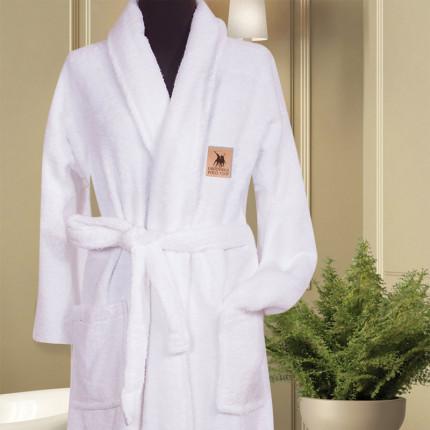 Μπουρνούζι Με Γιακά Greenwich Polo Club Essential 2611 Λευκό