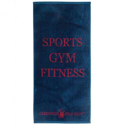 Πετσέτα Πάγκου Γυμναστηρίου 45X90 Greenwich Polo Club Essential 2557 Μπλε