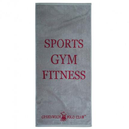 Πετσέτα Πάγκου Γυμναστηρίου 45X90 Greenwich Polo Club Essential 2559 Γκρι
