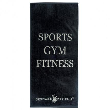 Πετσέτα Πάγκου Γυμναστηρίου 45X90 Greenwich Polo Club Essential 2560 Μαύρο