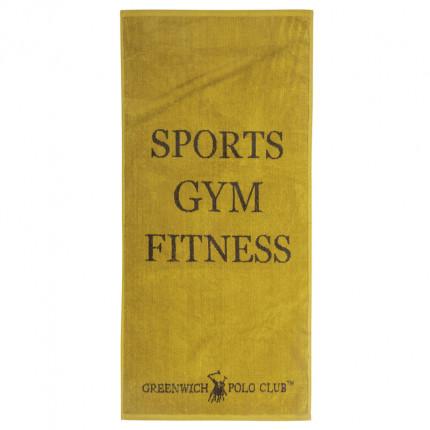 Πετσέτα Πάγκου Γυμναστηρίου 45X90 Greenwich Polo Club Essential 2561 Κίτρινο