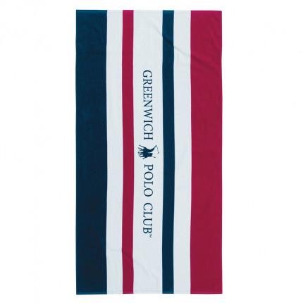 Πετσέτα Θαλάσσης 80X160 Greenwich Polo Club Essential 3512 Μπλε