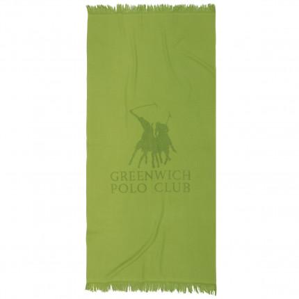 Πετσέτα Θαλάσσης 80x170 Greenwich Polo Club Essential 2828 Λαχανι