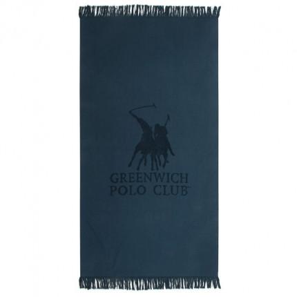 Πετσέτα Θαλάσσης 80X170 Greenwich Polo Club Essential 3527 Μπλε