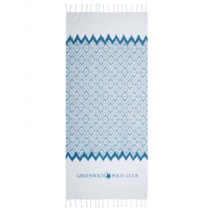 Πετσέτα Θαλάσσης 80X180 Greenwich Polo Club Essential 3532 Μπλε