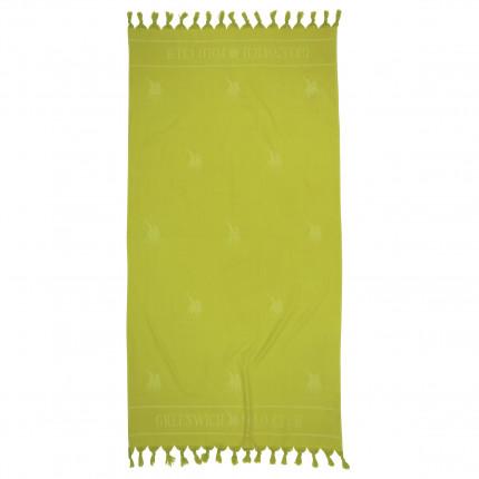 Πετσέτα Θαλάσσης 90x170 Greenwich Polo Club Essential 2819 Λαχανι