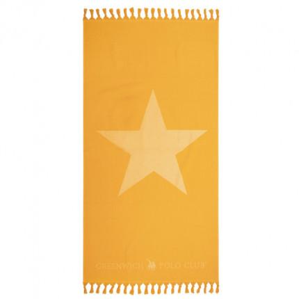 Πετσέτα Θαλάσσης 90X170 Greenwich Polo Club Essential 2890 Κίτρινο