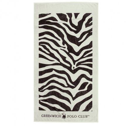 Πετσέτα Θαλάσσης 90X170 Greenwich Polo Club Essential 2899 Εκρου