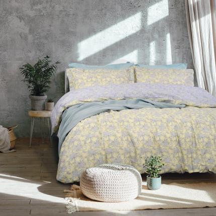 Κουβερλί Μονό 160X240 Das Home Happy 9477 Κίτρινο