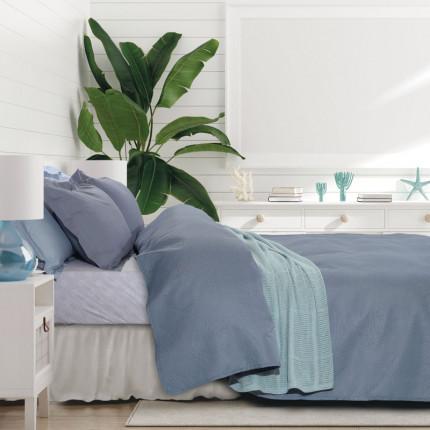 Κουβερλί Μονό 160X240 Das Home Happy 9485 Μπλε