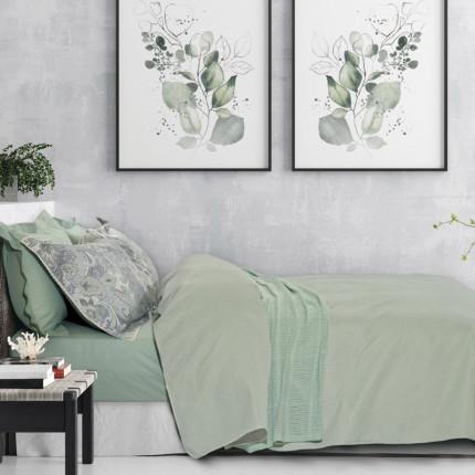 Κουβερλί Υπέρδιπλο 220X240 Das Home Happy 9484 Πράσινο