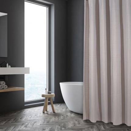 Κουρτίνα Μπάνιου 180X200 Das Home Bath Curtains 1086 Μπεζ