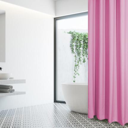 Κουρτίνα Μπάνιου 180x240 Das Home Bath Curtains 1074 Ροζ