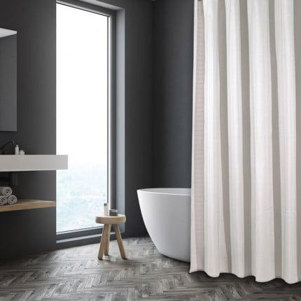Κουρτίνα Μπάνιου 180X240 Das Home Bath Curtains 1085 Εκρου