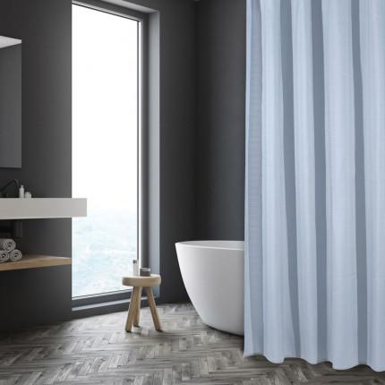Κουρτίνα Μπάνιου 180X240 Das Home Bath Curtains 1087 Σιελ