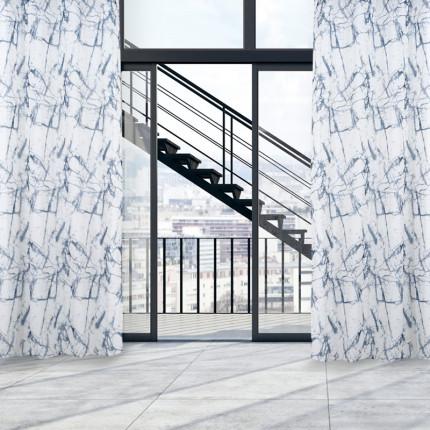 Κουρτίνα Με Τρουκς 140x260 Das Home Curtain 2112 Εκρου-Γκρι
