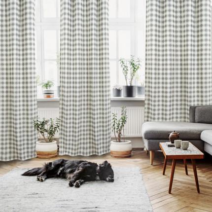 Κουρτίνα Με Τρουκς 140x260 Das Home Curtain 2113 Εκρου-Μπεζ-Γκρι