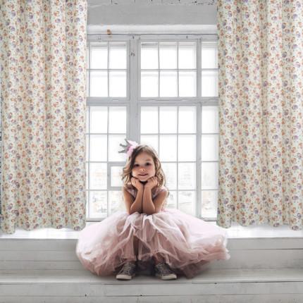 Κουρτίνα Με Τρουκς 140x260 Das Home Curtain 2139 Σομων-Λιλα-Εκρου