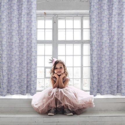 Κουρτίνα Με Τρουκς 140x260 Das Home Curtain 2141 Λιλα-Βεραμαν