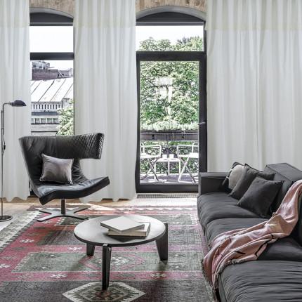 Κουρτίνα Με Θηλιές 140x260 Das Home Curtain 2143 Λευκο