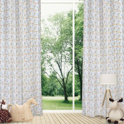 Κουρτίνα Με Τρουκς 140x260 Das Home Curtain 2161 Σιελ-Πρασινο