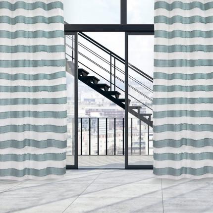Κουρτίνα Με Τρουκς 140x260 Das Home Curtain 2170 Εκρου-Βεραμαν
