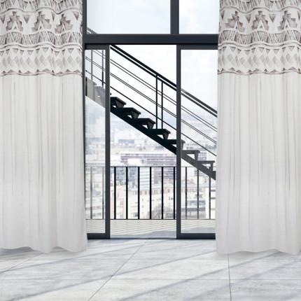 Κουρτίνα Με Τρουκς 140x260 Das Home Curtain 2184 Μπεζ
