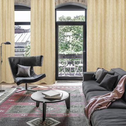 Κουρτίνα Με Τρουκς 140x280 Das Home Curtain 2131 Μπεζ