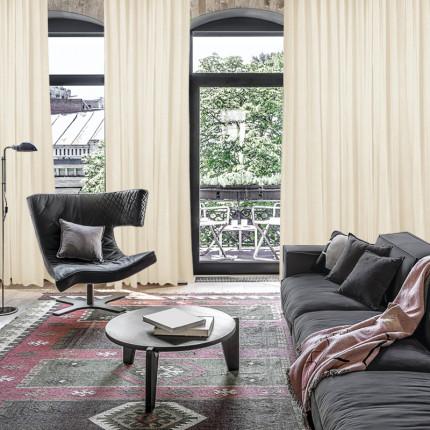 Κουρτίνα Με Τρουκς 450x260 Das Home Curtain 2181 Μπεζ