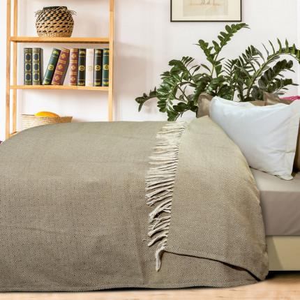 Κουβερτόριο Υπέρδιπλο 230X260 Das Home Blankets Summer 0383 Εκρου