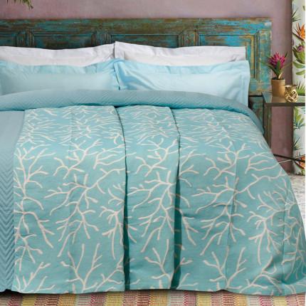 Κουβερτόριο Υπέρδιπλο 230X250 Das Home Blankets Summer 0414 Πράσινο