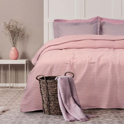 Κουβέρτα Πικέ Υπέρδιπλη 230X250 Das Home Blankets Summer 0436 Nude