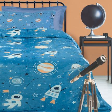 Κουβέρτα Fleece Μονή 160X220 Das Home Kid 4729