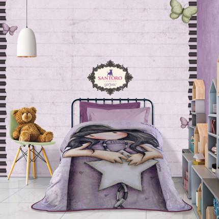 Κουβέρτα Fleece Μονή 160X220 Das Home Santoro Cartoon 5029