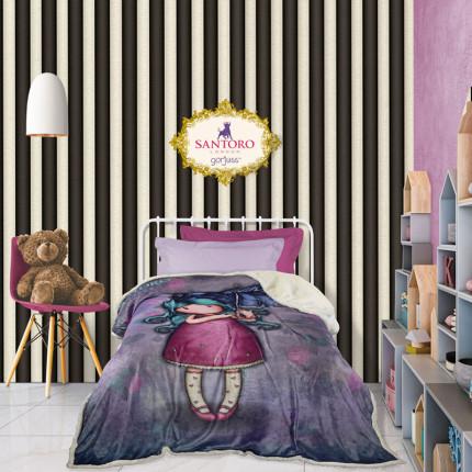 Κουβέρτα Fleece Μονή 160X220 Das Home Santoro Cartoon 5030